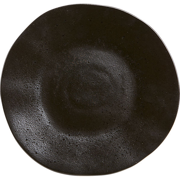 MoonrockBlackDinnerPlateS16