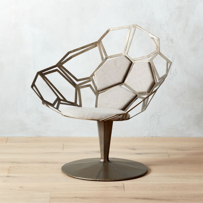 Mosaico Statement Chair | CB2