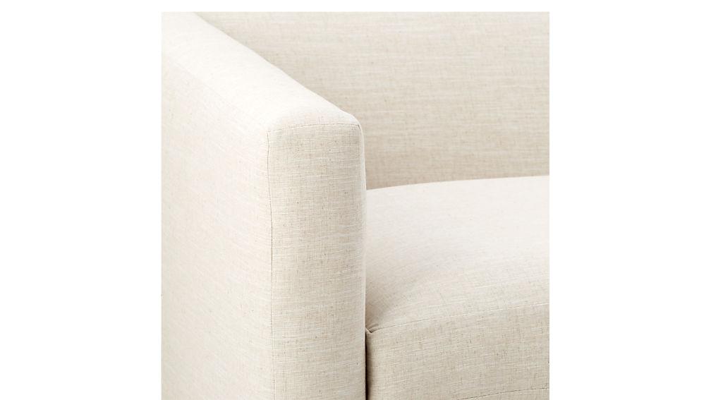 movie deep linen sofa cb2