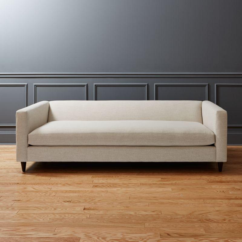 Sofas Modern modern linen sofas cb2