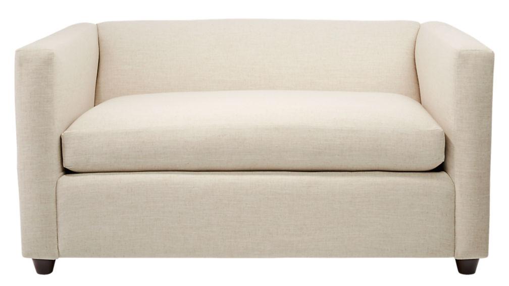Movie Birch Ivory Twin Sleeper Sofa