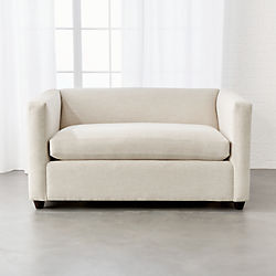 Movie Birch Ivory Twin Sleeper Sofa