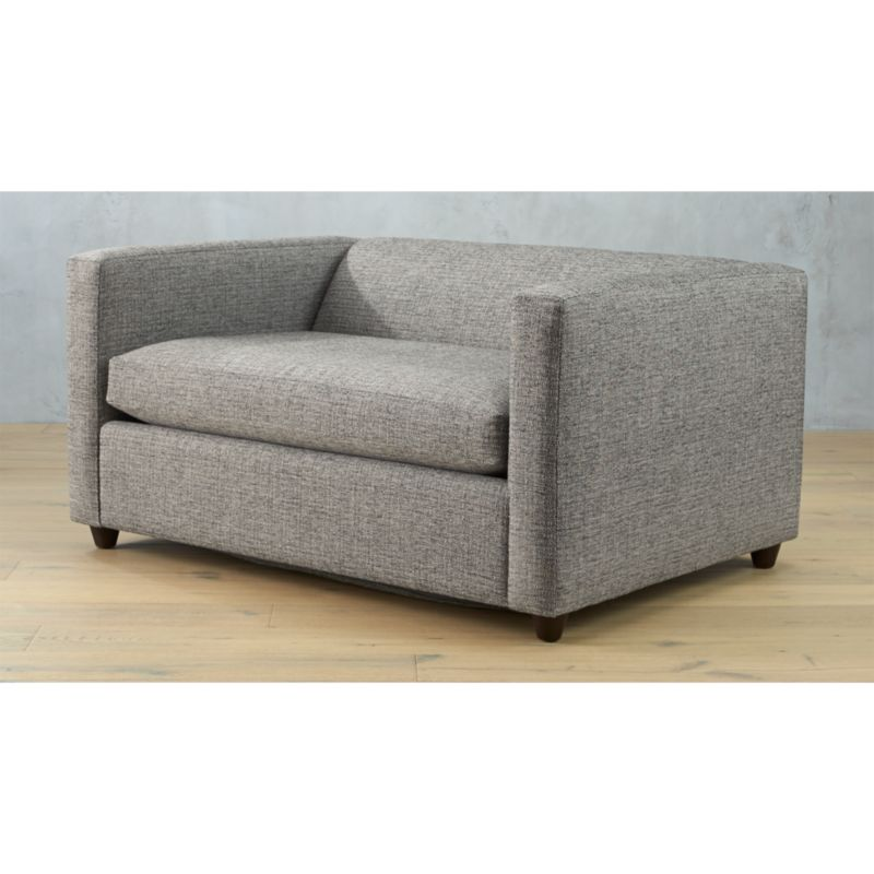 movie salt and pepper twin sleeper sofa chair Reviews CB2