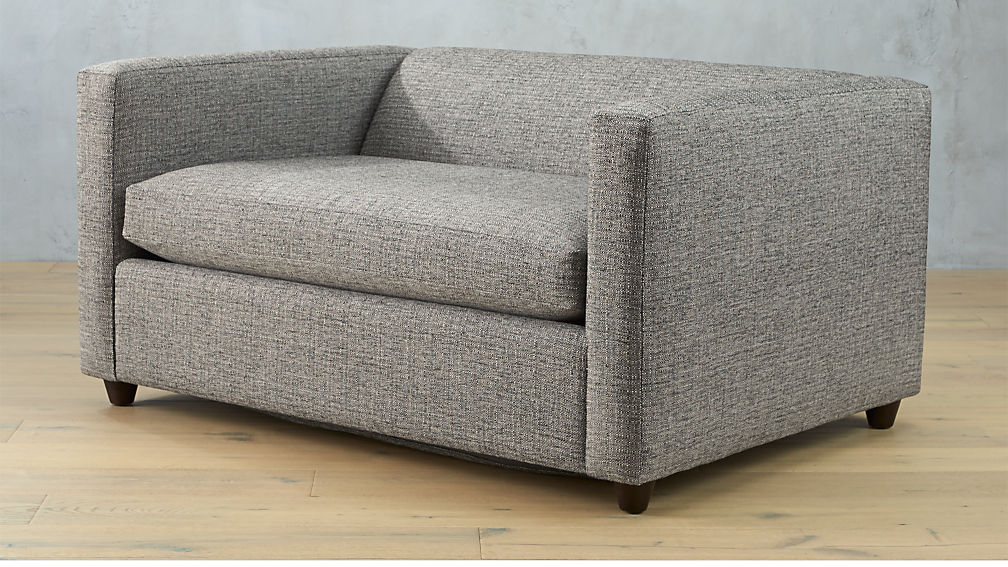 Perfect Movie Salt And Pepper Twin Sleeper Sofa ...