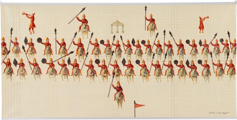 mughal regiment painting