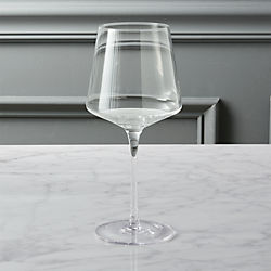muse white wine glass