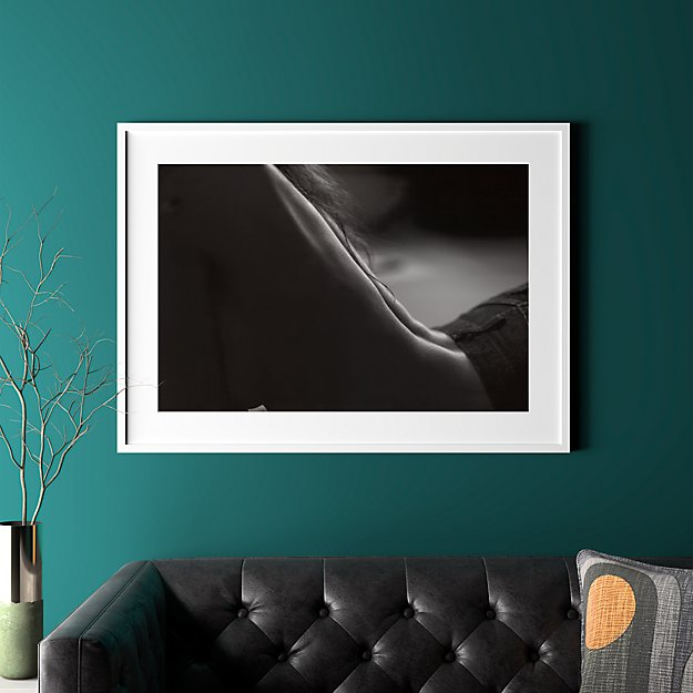 """back with white frame 41.5""""x30.25"""""""