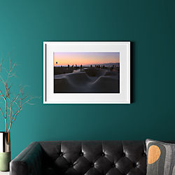 "sunset with white frame 31.5""x22.5"""