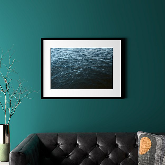 """water with black frame 31.5""""x23.5"""""""