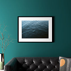 "water with black frame 31.5""x23.5"""