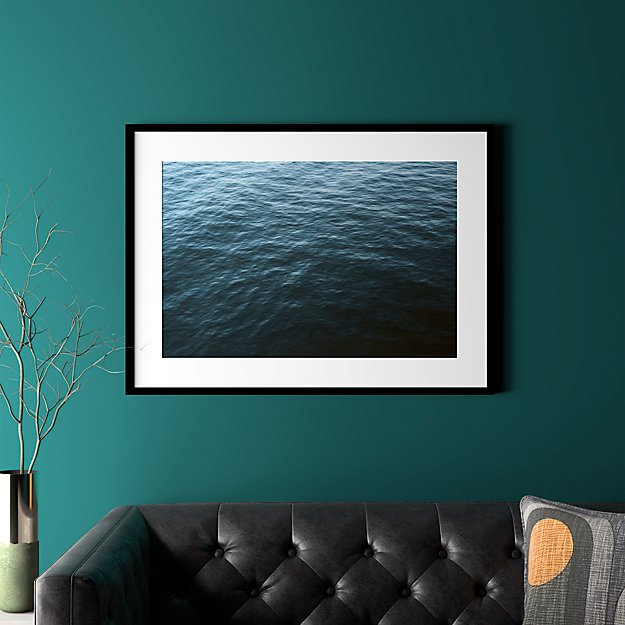 """water with black frame 37.5""""x27.5"""""""