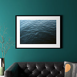 "water with black frame 37.5""x27.5"""