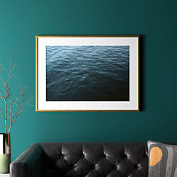 "water with gold frame 37.5""x27.5"""