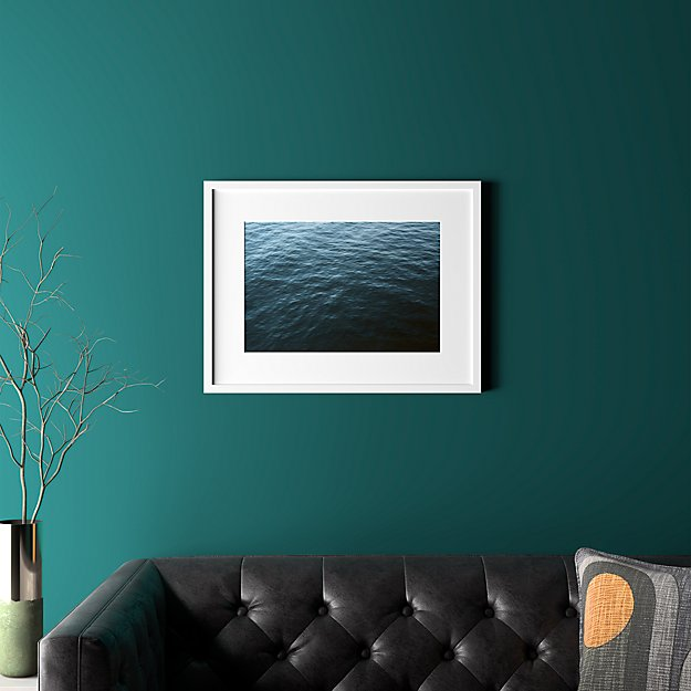 """water with white frame 25.5""""x19.5"""""""