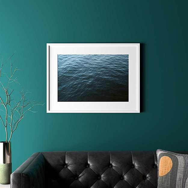 """water with white frame 31.5""""x23.5"""""""