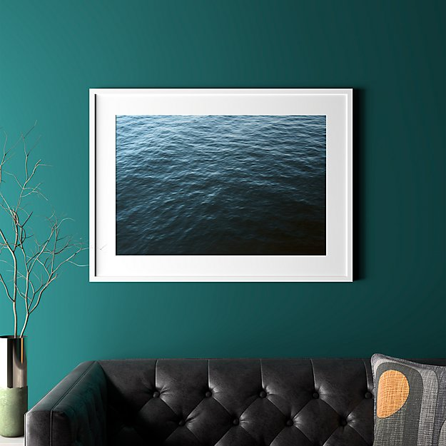 "water with white frame 37.5""x27.5"""
