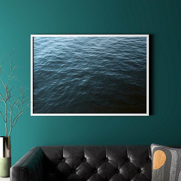 """water with white frame/no mat 41.5""""x28.25"""""""