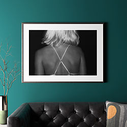 "x with pewter frame 41.5""x30.25"""