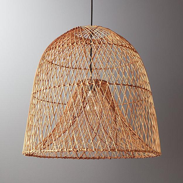 Nassa Basket Pendant Light Reviews Cb2
