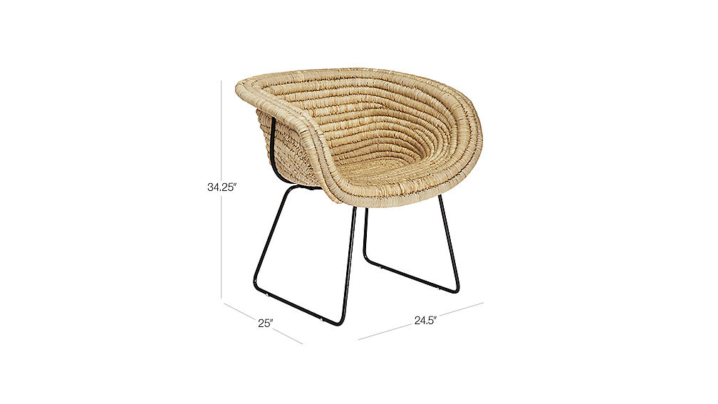 collection basket kettal products ditzel by chair armchair nanna en b design wicker