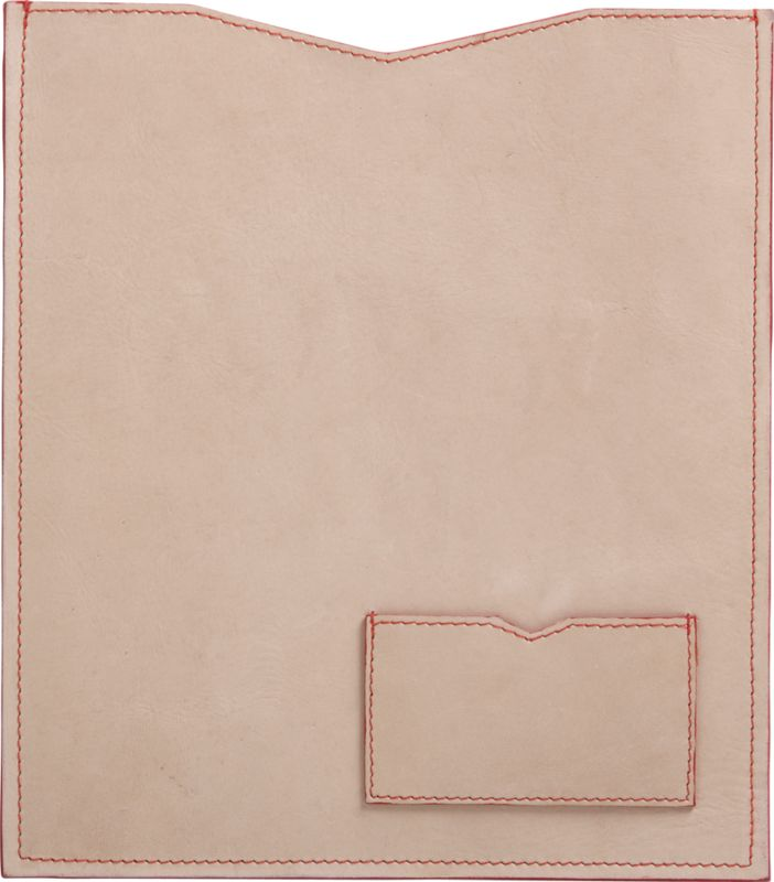 natural leather tablet case