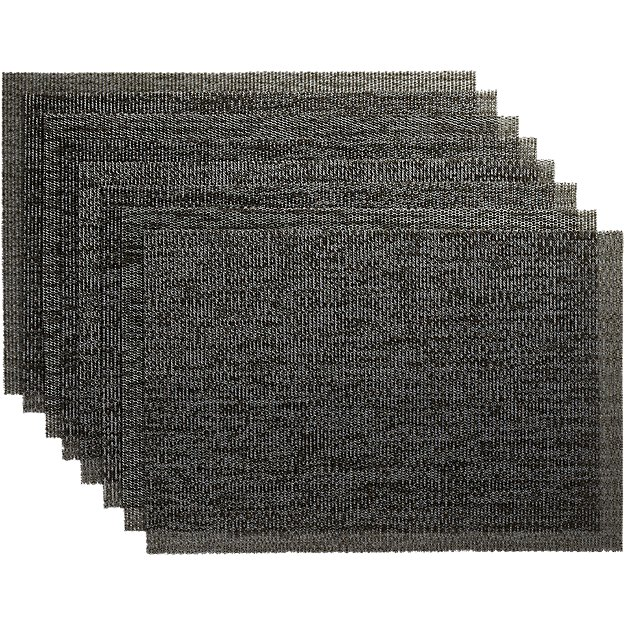 set of 8 net shale placemats