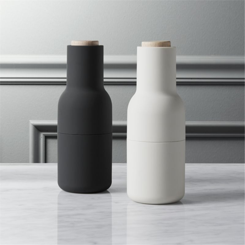 2-piece neutral salt and pepper grinder set