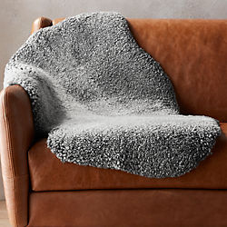 new zealand shorn sheepskin throw