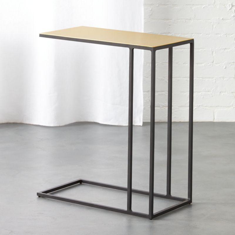 Superior Nolita Brass C Table