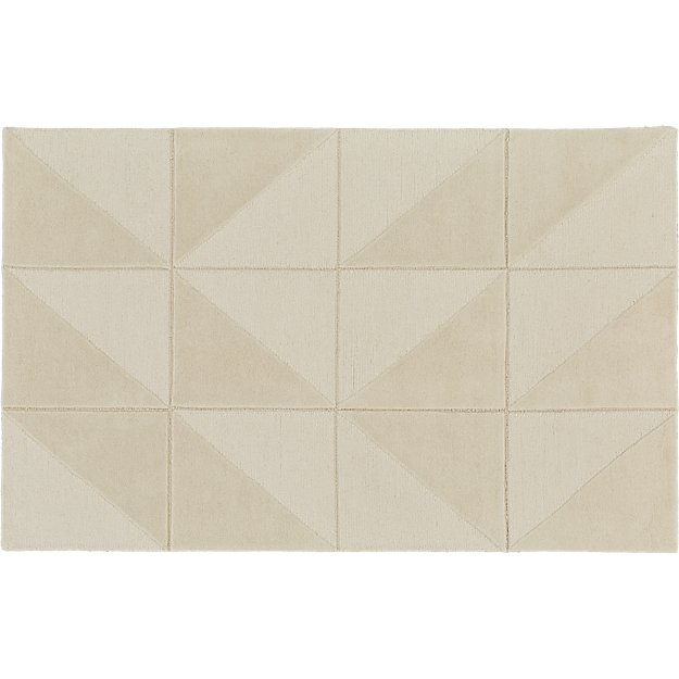 Nora Natural Tufted Rug 5'x8'