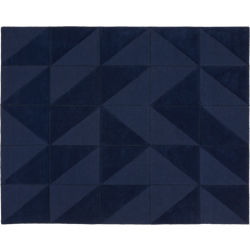 Nora Navy Tufted Rug 8'x10'