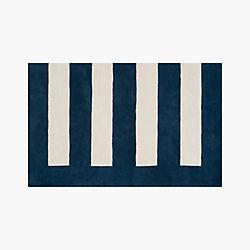 noren blue-white rug 5'x8'