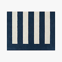 noren blue-white rug 8'x10'