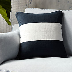 "20"" noren pillow with down-alternative insert"