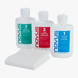 novus plastic polish-cleaner kit