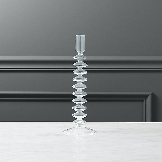 numi 10-ring taper candle holder