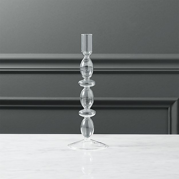 numi 2-ring taper candleholder
