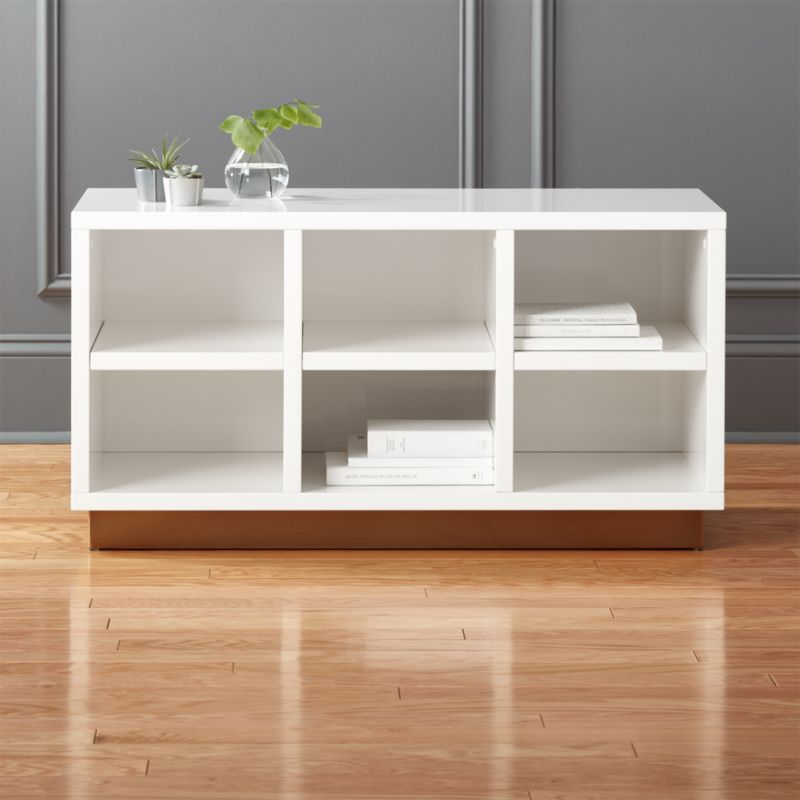 Oberlin Small White Entryway Bench