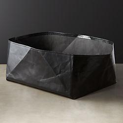 Oberlin Black Papier Basket