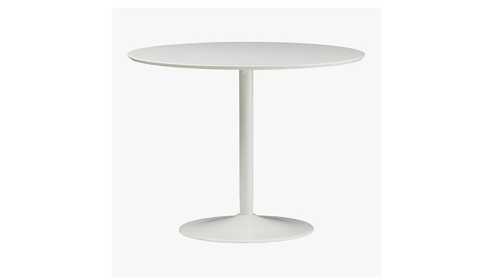 odysseytablewhites8 biogrphychrodyssytblwhtf14 - Round White Dining Table