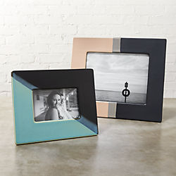ojai dipped ceramic picture frames