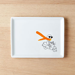 oliver carrot scarf appetizer plate