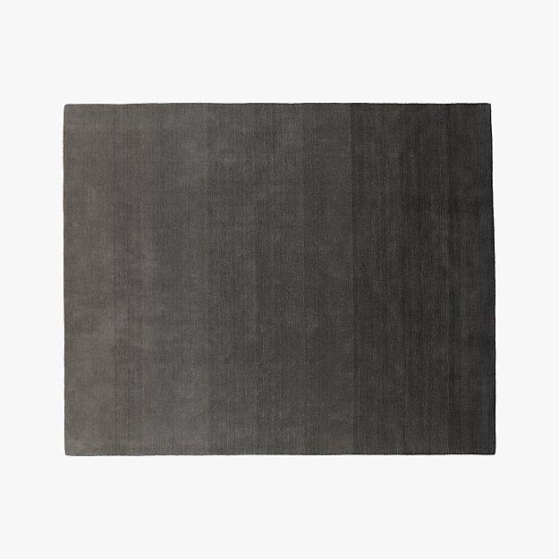 ombre grey rug 8'x10'