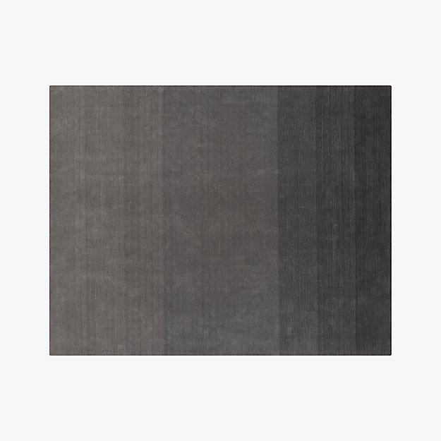 ombre grey rug 9'x12'