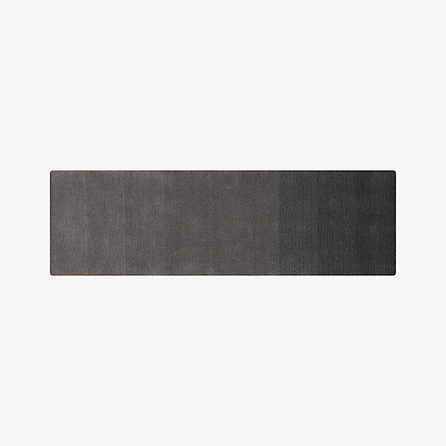 ombre grey runner 2.5'x8'