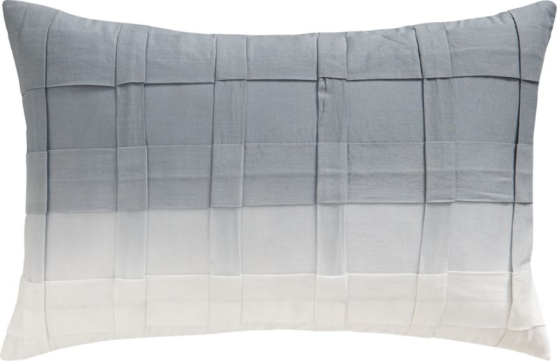 "ombre 18""x12"" pillow"