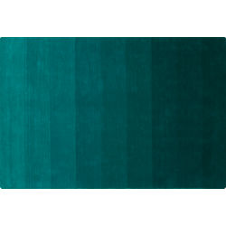 ombre teal rug 6'x9'