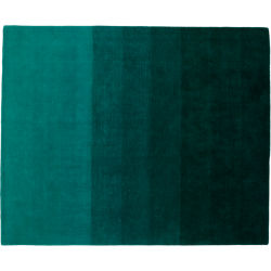 ombre teal rug 8'x10'
