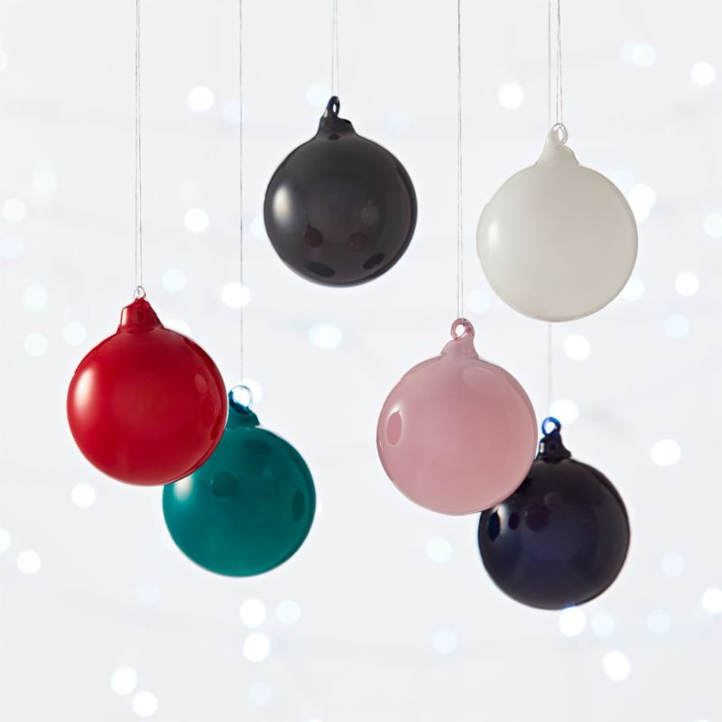 Modern Christmas Ornaments
