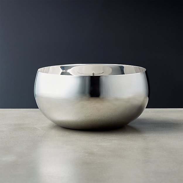 Orb Stainless Steel Serving Bowl